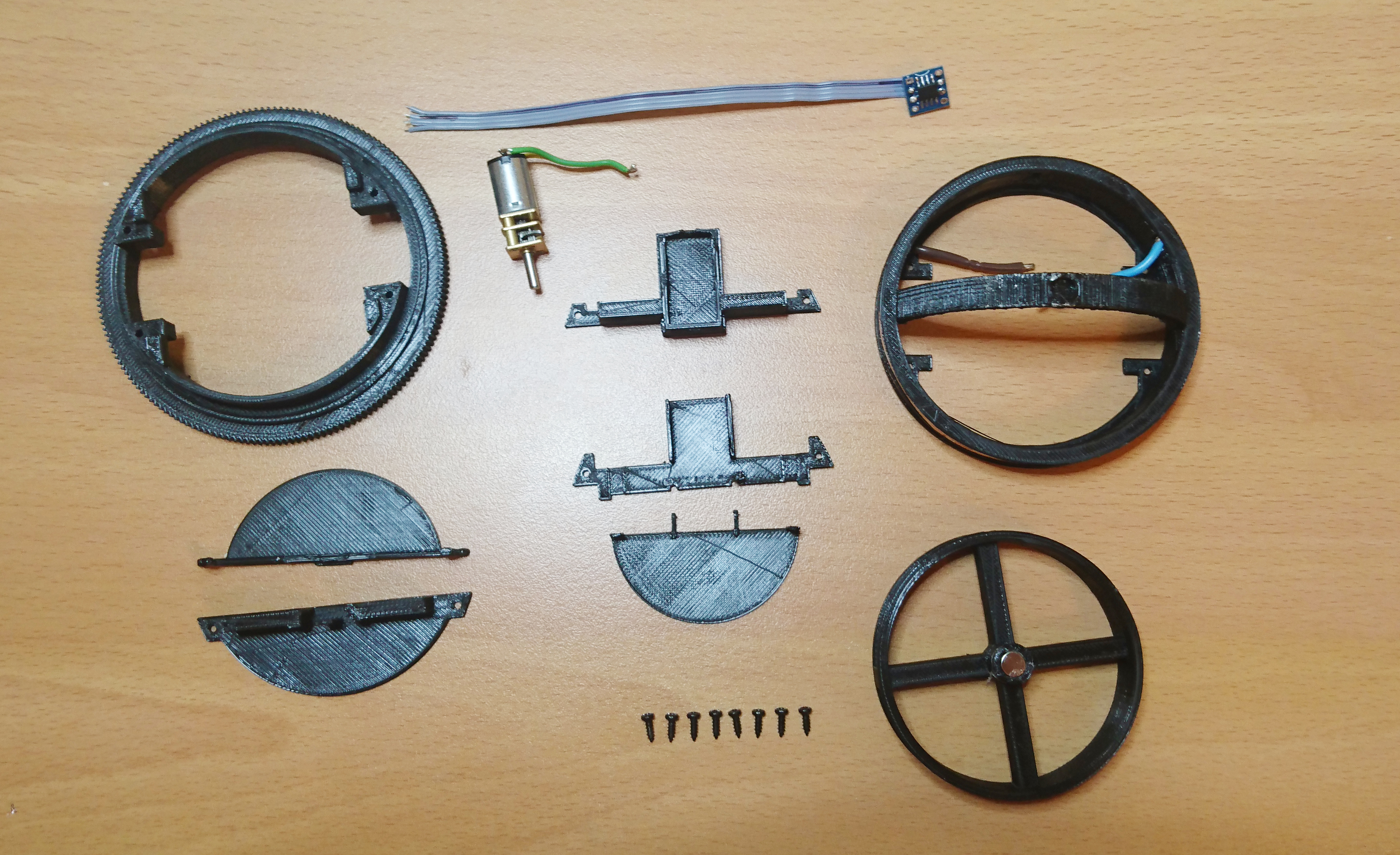Parts For One Wheel