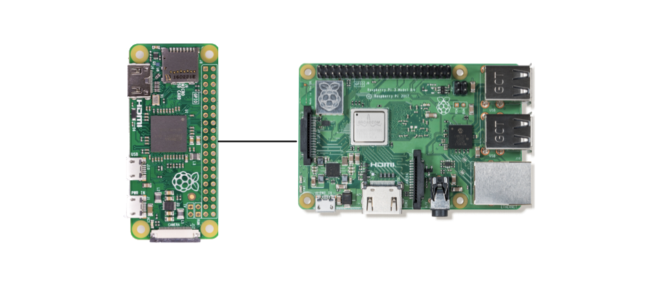 Two Raspberry Pis
